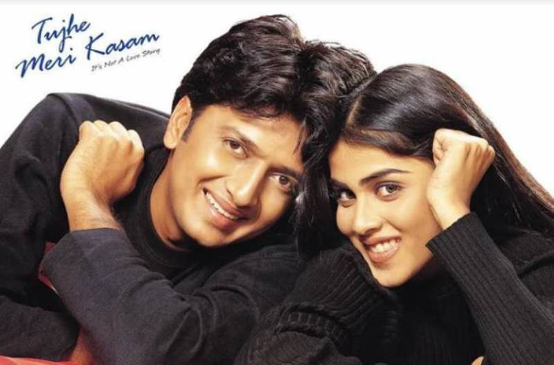 Genelia D'Souza's Debut Movie, Tujhe Meri Kasam
