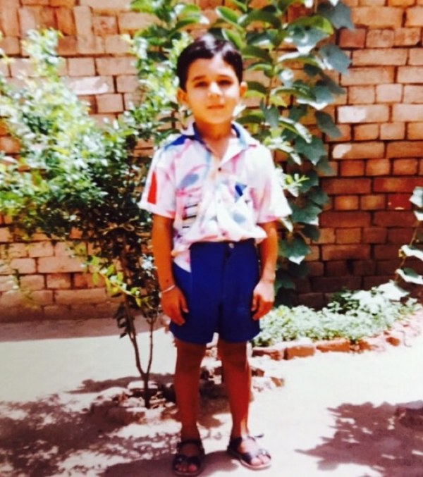 Harish Verma childhood picture