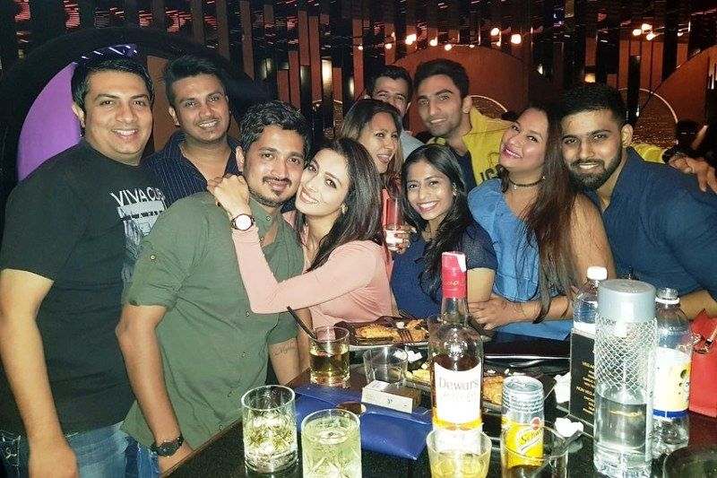 Heena Panchal in a Party
