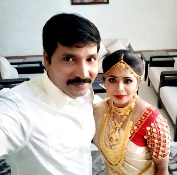 Jangiri Madhumitha With Her Husband Moses Joel