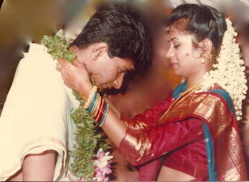 KK And His Wife Jyothy