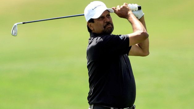 Kapil Dev playing Golf