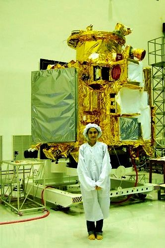 Khushboo Mirza With The Chandrayaan 1