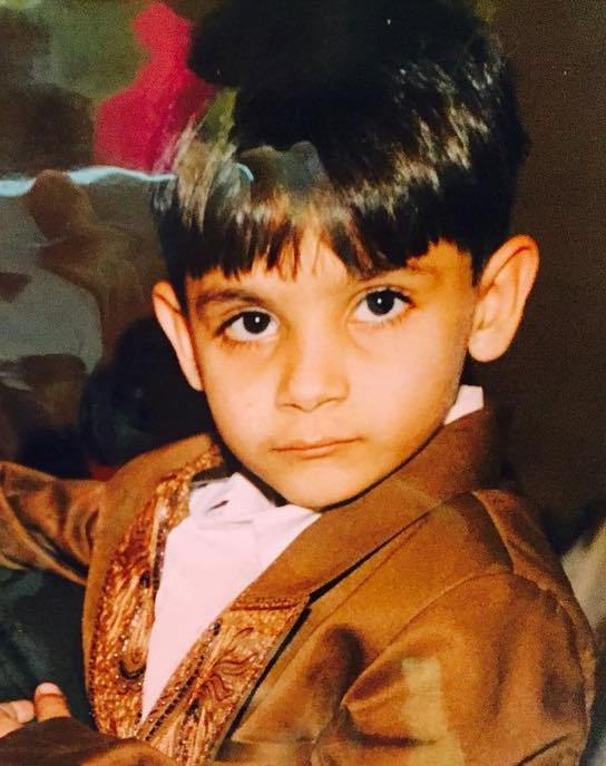 Millind Gaba childhood picture