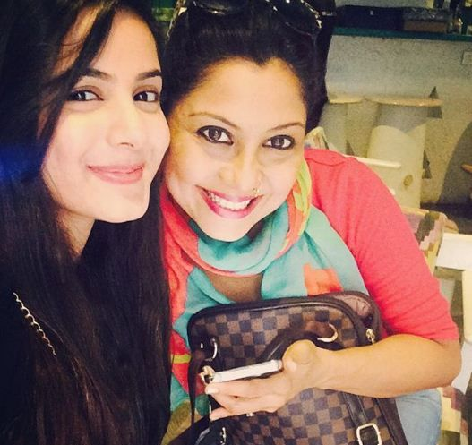 Nikki Sharma with Maninee Mishra