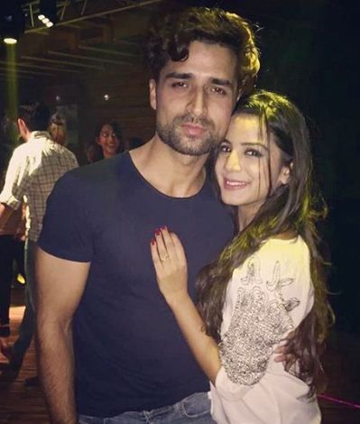Nikki Sharma with her boyfriend Asif War