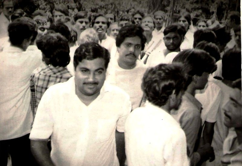 Nitin Gadkari In College