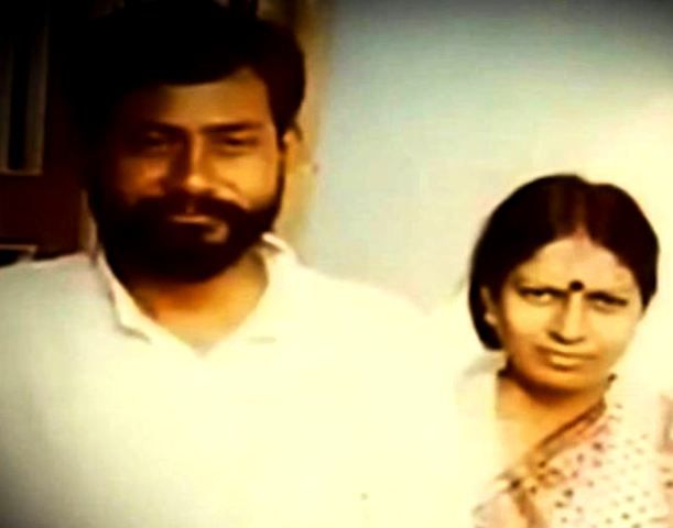Nitish Kumar With His Wife Manju Kumari Sinha