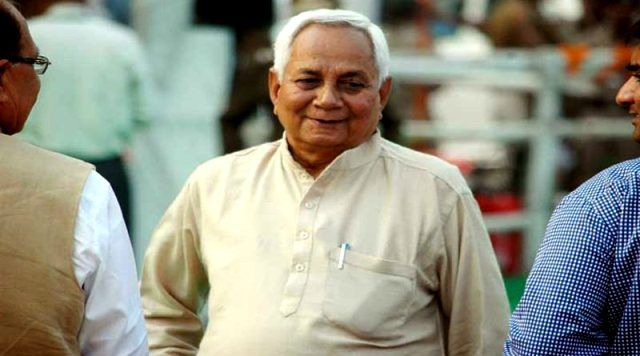 Nitish Kumar's Elder Brother Satish Kumar