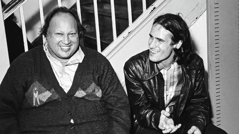 Nusrat Fateh Ali Khan With Jeff Buckley