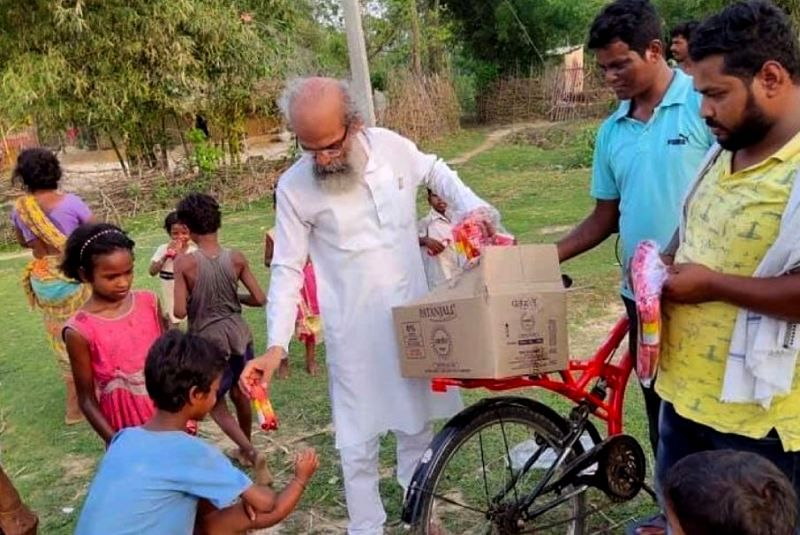 Pratap Chandra Sarangi Serving The Poor