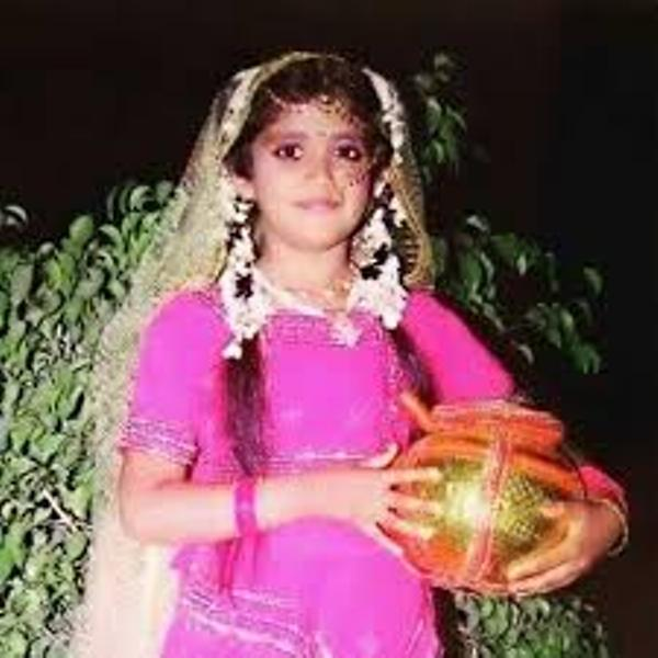 Rinku Rajguru As A Child