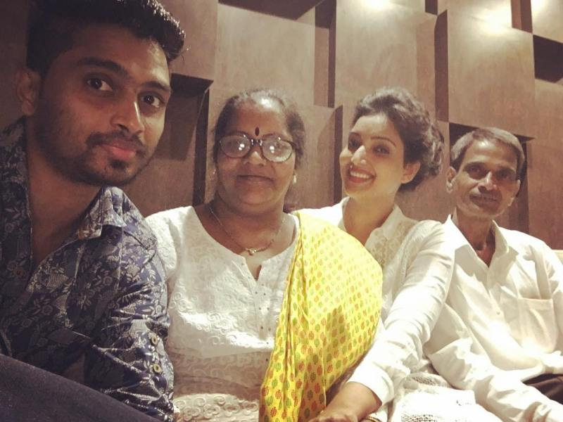 Rupali Bhosale With Her Family
