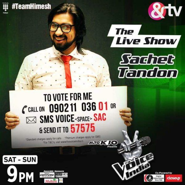 Sachet Tandon-The Voice