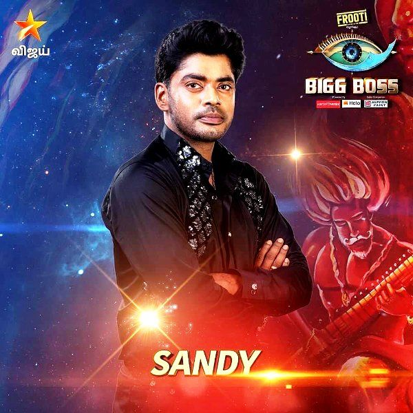 Sandy Announced As A Participant In Bigg Boss Tamil (Season 3)
