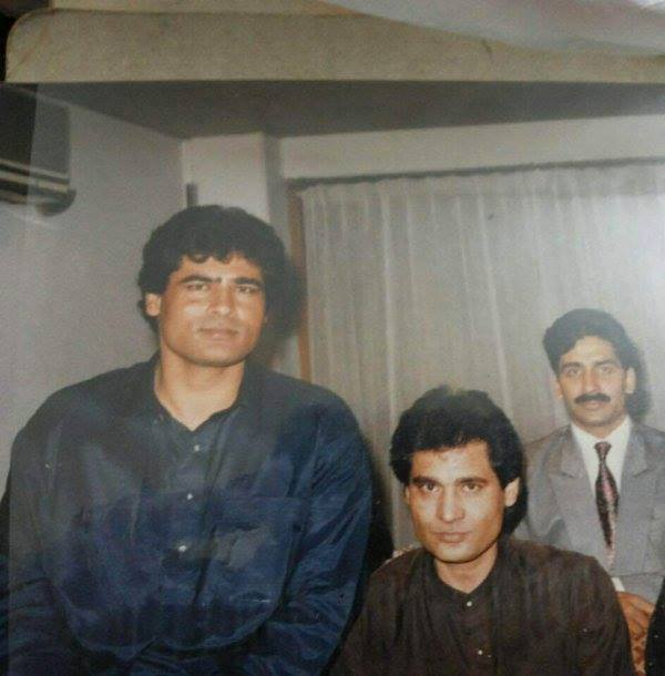 Shafqat Amanat Ali With His Brother, Asad Amanat Ali Khan