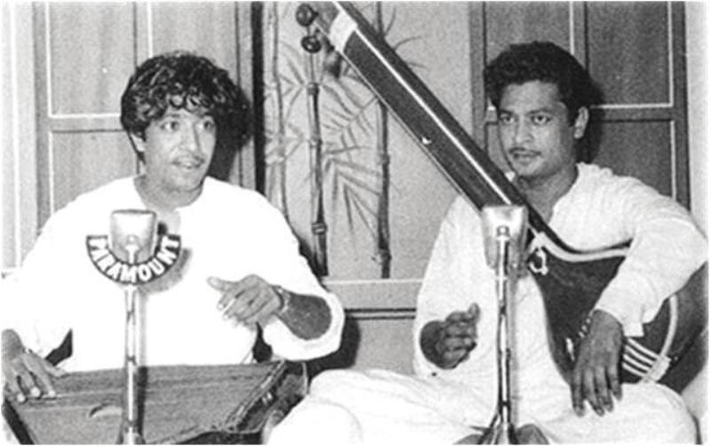 Shafqat Amanat Ali's Uncle, Bade Fateh Ali Khan With His Father, Amanat Ali Khan