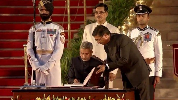 Subrahmanyam Jaishankar After Taking Oath As Minister Of External Affairs