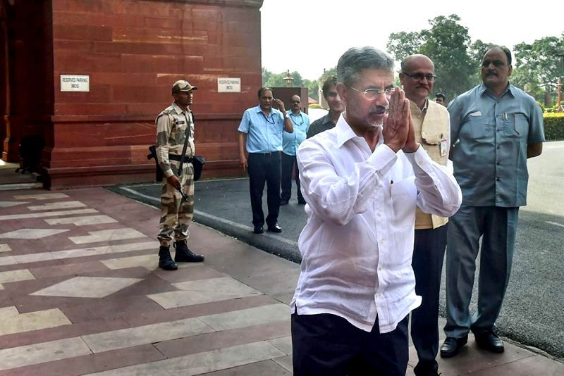 Subrahmanyam Jaishankar On His First Day As Union Minister