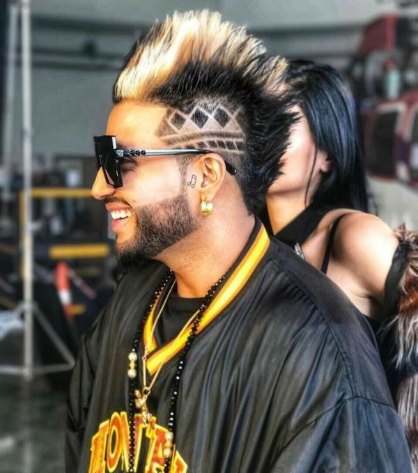 Sukhe's hairstyle