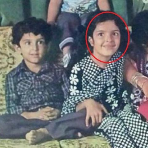 Sunaina Roshan in her childhood