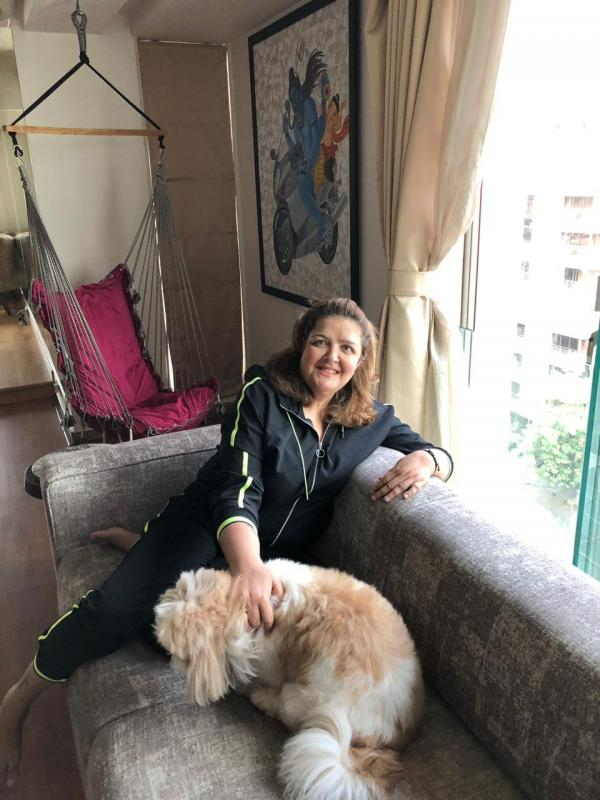 Sunaina Roshan loves dogs