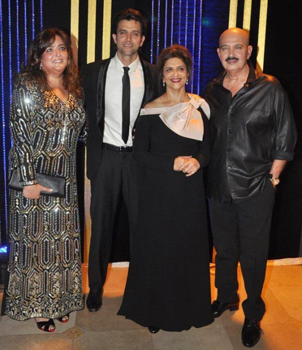 Sunaina Roshan with her family