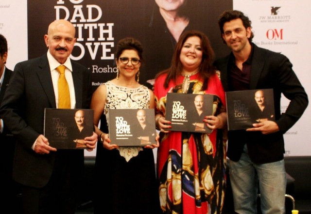 Sunaina Roshan's book launch ceremony