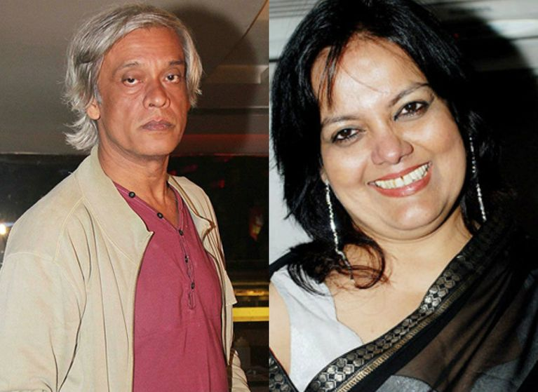 Sushmita Mukherjee and Sudhir Mishra