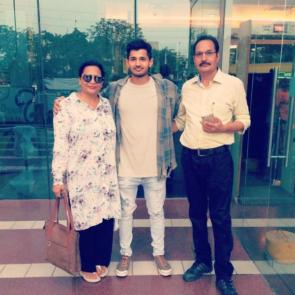 Zenith Sidhu's parents and brother