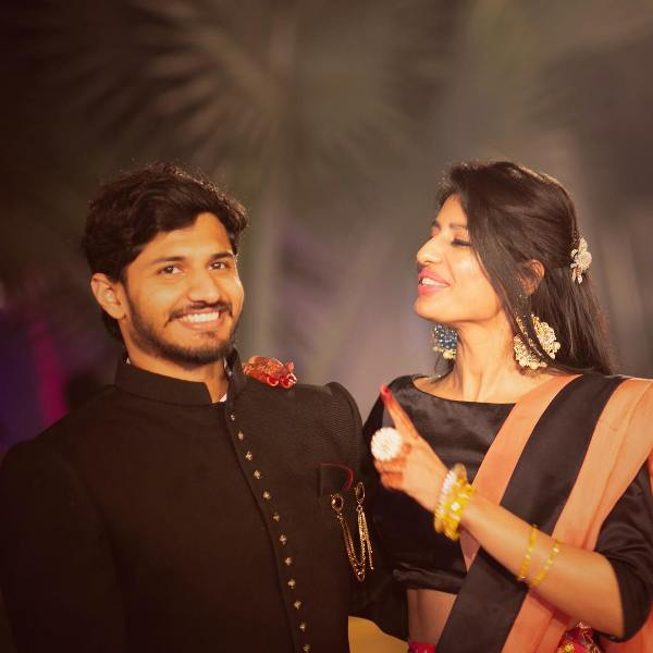 Zenith Sidhu with her brother