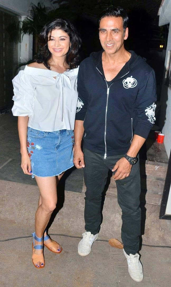 Akshay Kumar and Pooja Batra