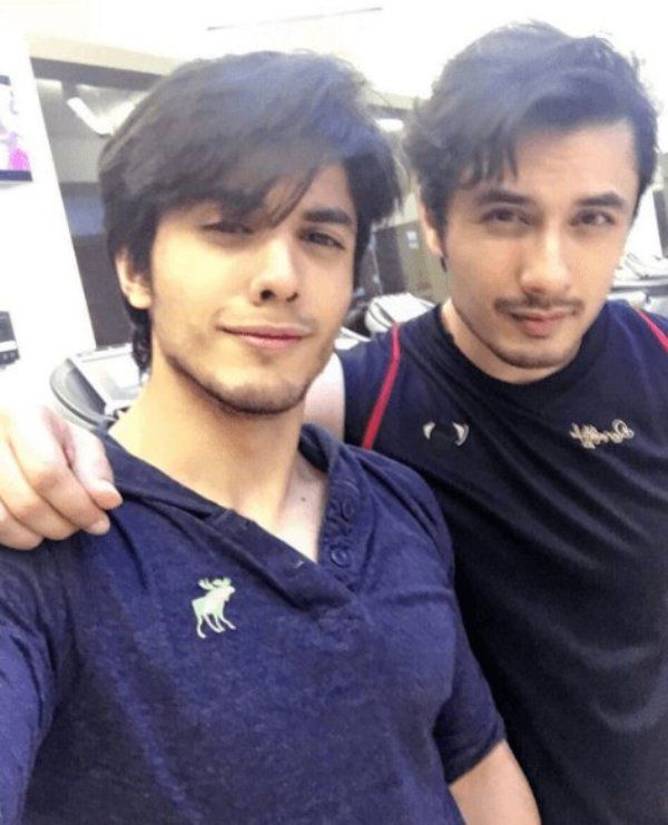 Ali Zafar With His Brother, Danyal