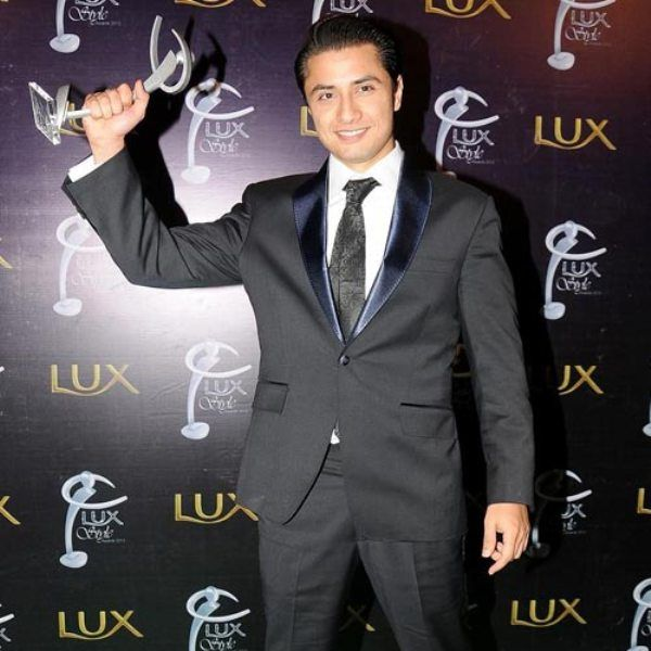 Ali Zafar With His Lux Style Award