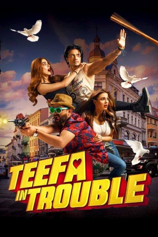 Ali Zafar's Pakistani Film Debut-Teefa in Trouble