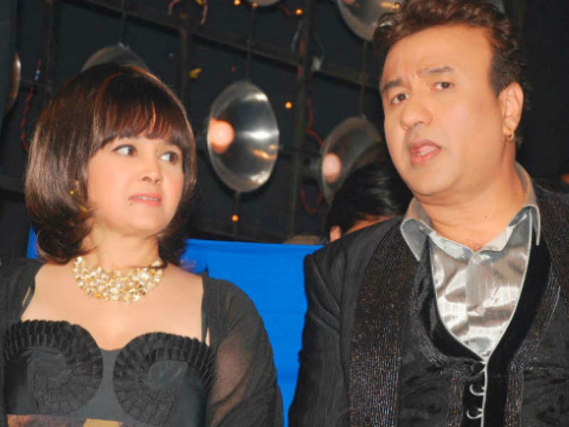 Alisha Chinai With Anu Malik