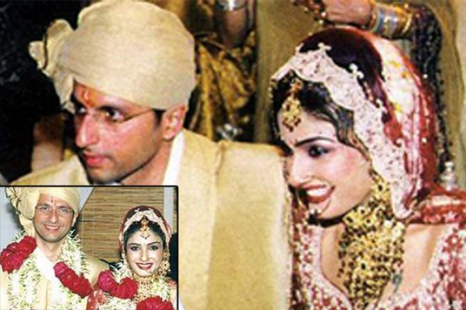 Anil Thadani's wedding picture