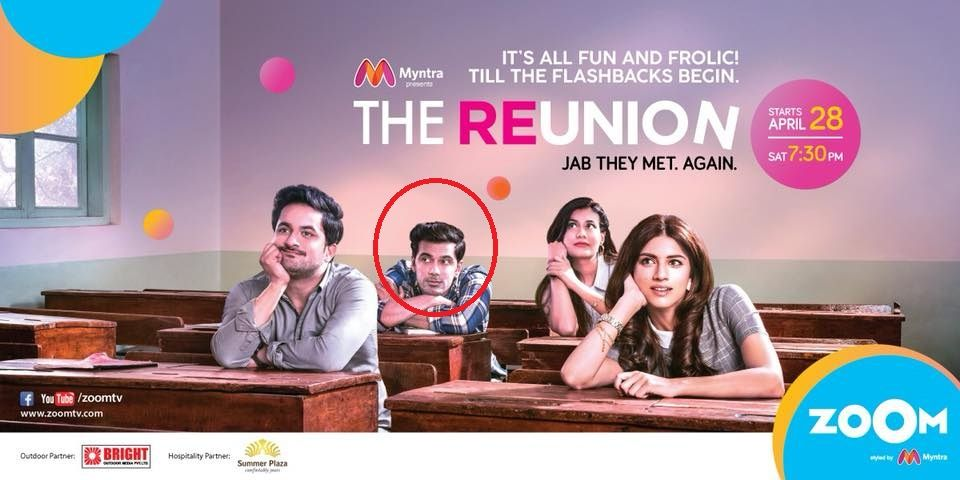 Anuj Sachdeva in 'The Reunion'