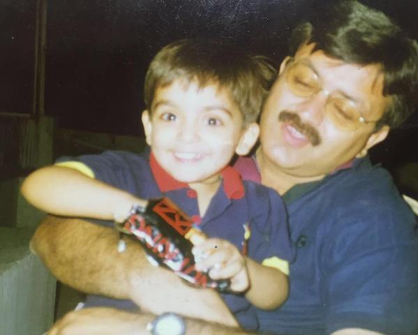 Arjit Taneja's childhood picture