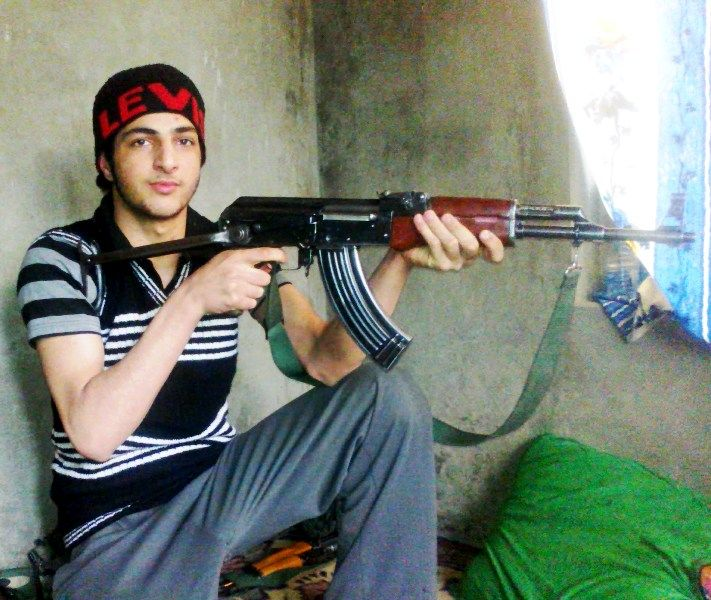 Burhan Wani At The Age Of 15