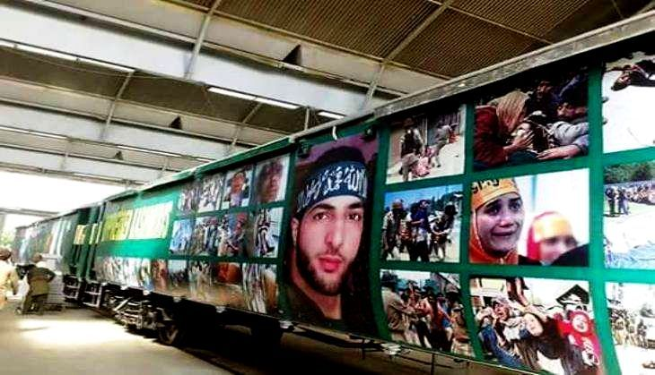 Burhan Wani Featured On Pakistan Railways' Azadi Train