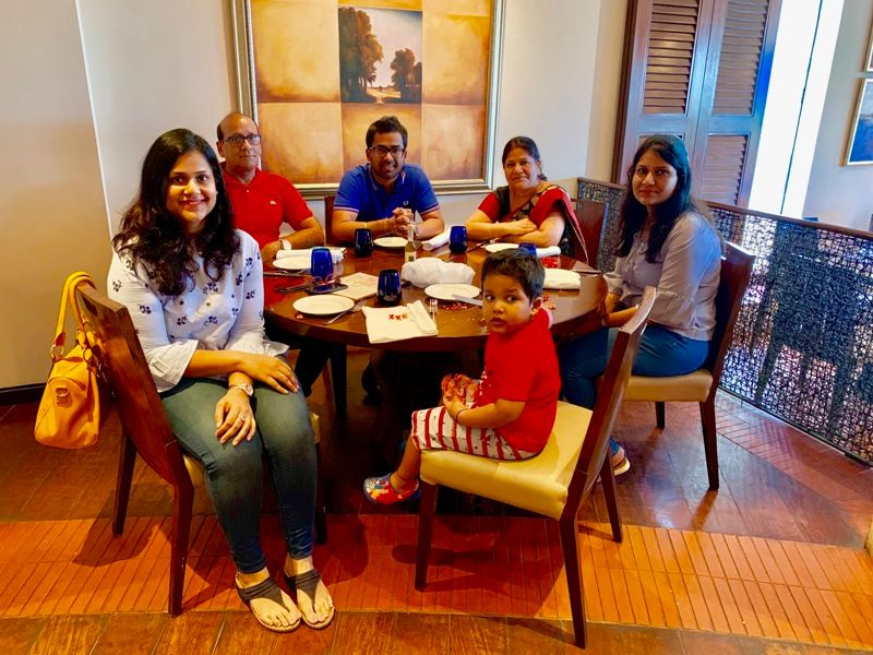 Chandan Agarwal With His Family