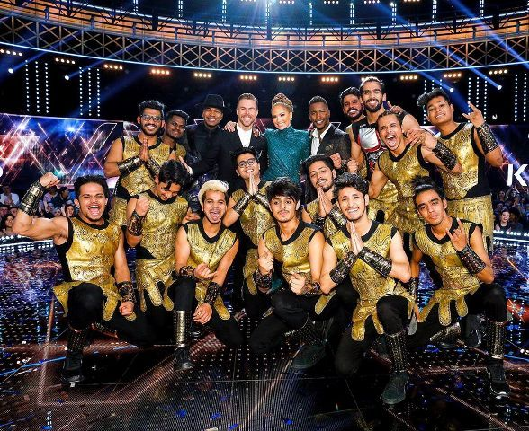 Hardik Rawat's team as the winner of World of Dance