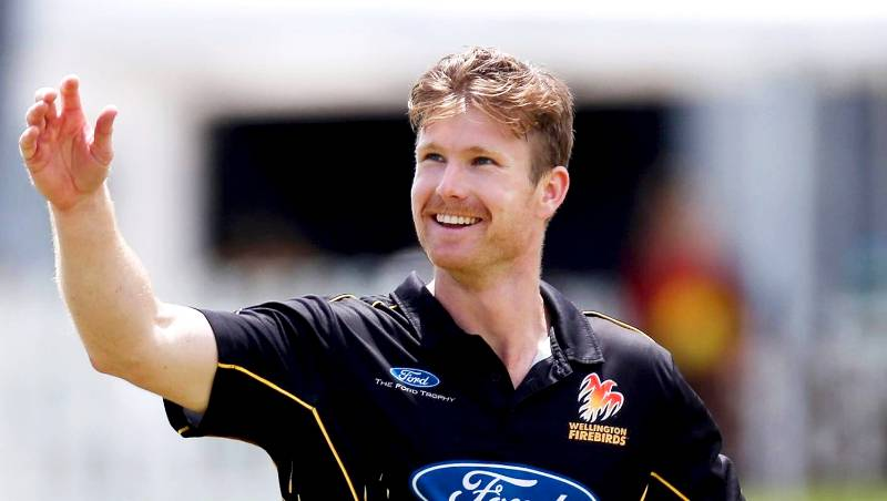 James Neesham Playing For The Wellington Firebirds