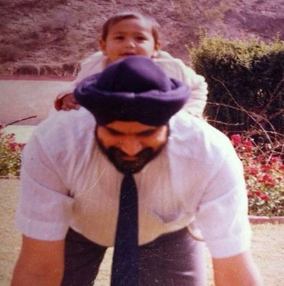 Karan Oberoi (KO) with his father