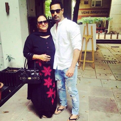 Karan Oberoi (KO) with his mother