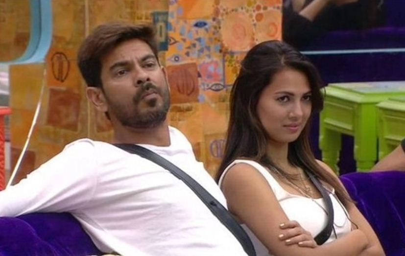 Keith Sequeira with Rochelle Rao in 'Bigg Boss'