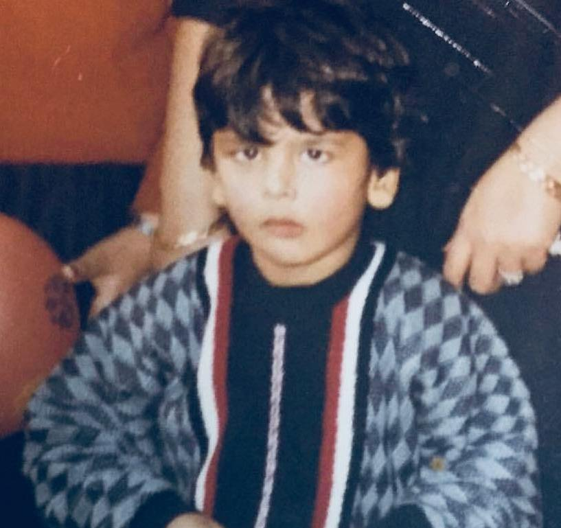 Kushal Tandon's childhood picture