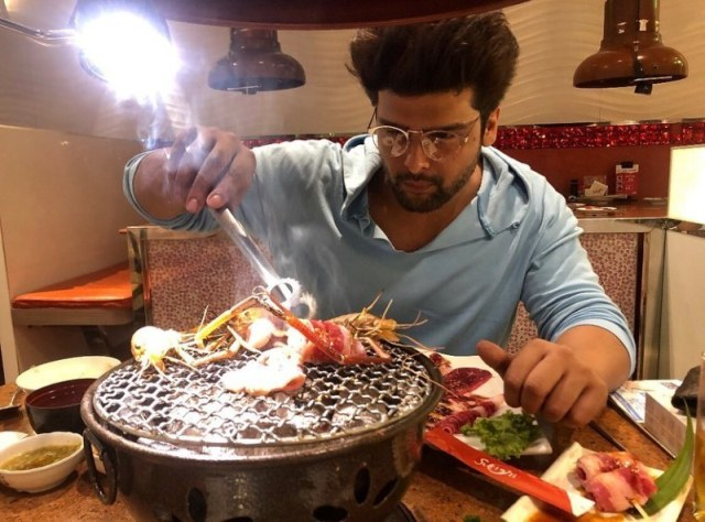 Kushal Tandon loves to cook
