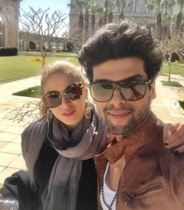 Kushal Tandon with Elena Boeva